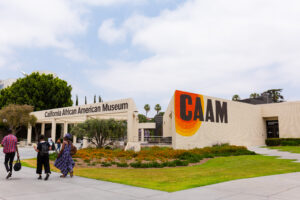 Picture of the entrance to the CAAM museum