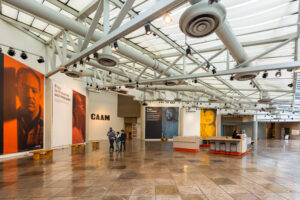 Picture of inside the CAAM museum